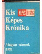 Magyar városok-Kis Képes Krónika 1981. (bordó) (mini)
