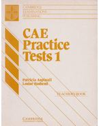 CAE Practice Test 1 - Teacher's Book
