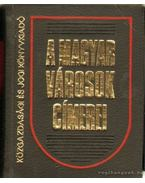 A magyar városok címerei - Castiglione Endre