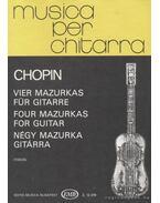 Négy mazurka gitárra