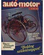 Autó-motor 1986. (teljes)