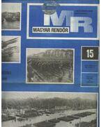 Magyar Rendőr 1980. év