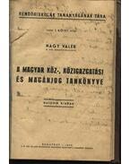 A magyar köz-, közigazgatási és magánjog tankönyve