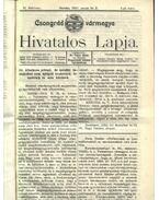 Csongrád vármegye Hivatalos Lapja 1913.