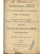 Teljes francia és magyar szótár