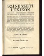 Színészeti lexikon II. - Németh Antal