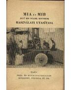 MIA és MIB jelű kis stabil motorok használati utasítása