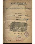 Figyelmező az egyetemes literatura' köréből harmadik év 1839