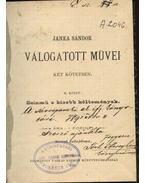 Janka Sándor válogatott művei