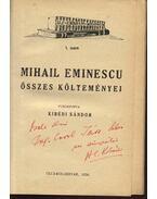 Mihail Eminescu összes költeményei