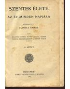 Szentek élete II kötet