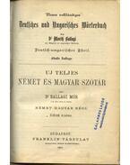 Uj teljes német és magyar szótár (1882)