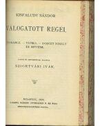 Régi Magyar Költők