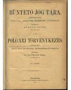 Büntető jog tára, Polgári törvénykezés XLI. kötet (1901. év)