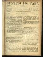 Büntető jog tára, Polgári törvénykezés XX.kötet (1890. év)