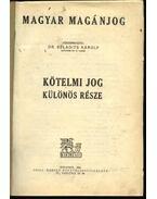Magyar magánjog IV.