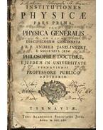 Institutiones Physicae I-II. pars