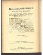 Községi bíráskodás - Térfy Gyula