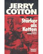 Stärker als Ketten - Cotton, Jerry