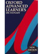 Oxford Advanced Learner's dictionary - Cowie, A. P.