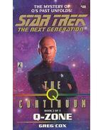 Star Trek - The Next Generation - The  Continuum: Q-Zone - Cox, Greg