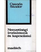 Nemzetiségi irodalmunk és kapcsolatai - Csanda Sándor