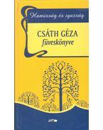 Csáth Géza füveskönyve