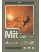 Mit kell tudni a harci repülőkről? - Csatlós István