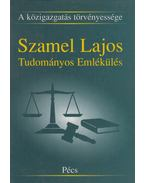 A közigazgatás törvényessége - Csefkó Ferenc