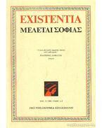 Existentia 1991/1-2. - Csejtei Dezső