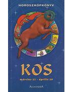 Horoszkópkönyv - Kos - Cserna György