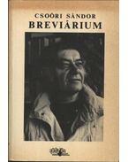 Breviárium - Csoóri Sándor