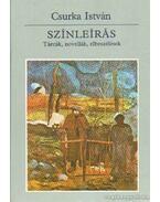 Színleírás - Csurka István