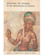 Peintures de temples et de sanctuaries á Ceylan - D.B. Dhanapala