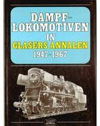 Dampflokomotiven in Glasers Annalen 1947-1967