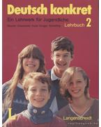 Deutsch konkret 2 I-II. kötet (Lehrbuch + Arbeitsbuch)
