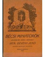 Bécsi miniatürök (dedikált) - Dévény Jenő