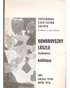 Dombrovszky László festőművész kiállítása