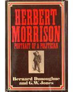 Herbert Morrison portrait of a politician - Donoughue, Bernard, Jones, G. W.