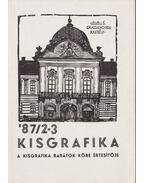 Kisgrafika '87/2-3 - Dr. Arató Antal