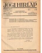 Jogi hirlap 1938. XII. évfolyam 1-52. szám (teljes) - Dr. Boda Gyula (szerk.)