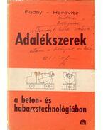 Adalékszerek a beton- és habarcstechnológiában - Dr. Buday Tibor, Dr. Horovitz János