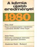 A kémia újabb eredményei 49 - Dr. Csákvári Béla