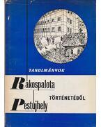 Tanulmányok Rákospalota-Pestújhely történetéből - Dr. Czoma Lászlóné (szerk.)