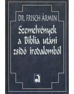 Szemelvények a Biblia utáni zsidó irodalomból (hasonmás) - Dr. Frisch Ármin