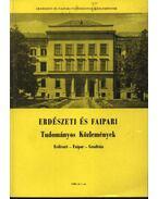 Erdészeti és Faipari Tudományos közlemények 1980. év 1. sz. - Dr. Gencsi László