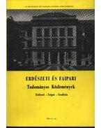 Erdészeti és Faipari Tudományos közlemények 1981. év 1. sz. - Dr. Gencsi László