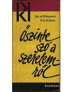 Őszinte szó a szerelemről - Dr. Hoffmann - P.G. Klemm