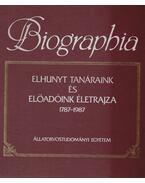 Biographia - Dr. Kovács Gyula, DR.FEHÉR GYÖRGY