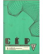 Gép 1973. XXV. évfolyam 1-12. szám (teljes) - Dr. Lettner Ferenc (főszerk.)